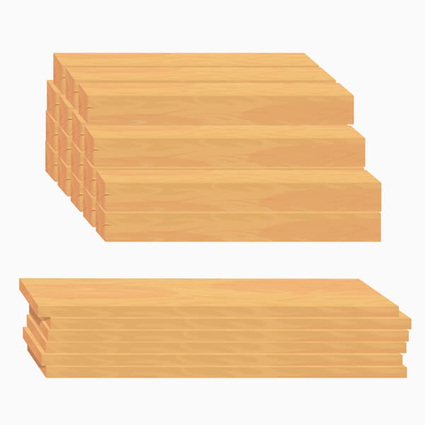 Fence Plank Stack