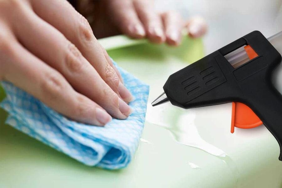 Remove Hot Glue