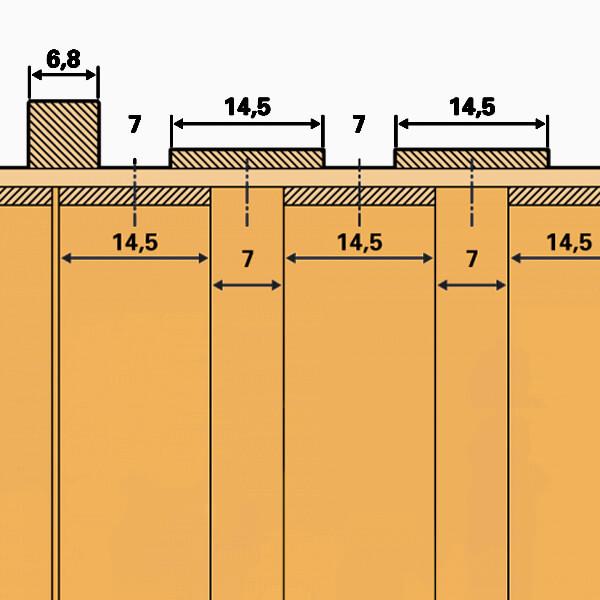 Plank Spacing