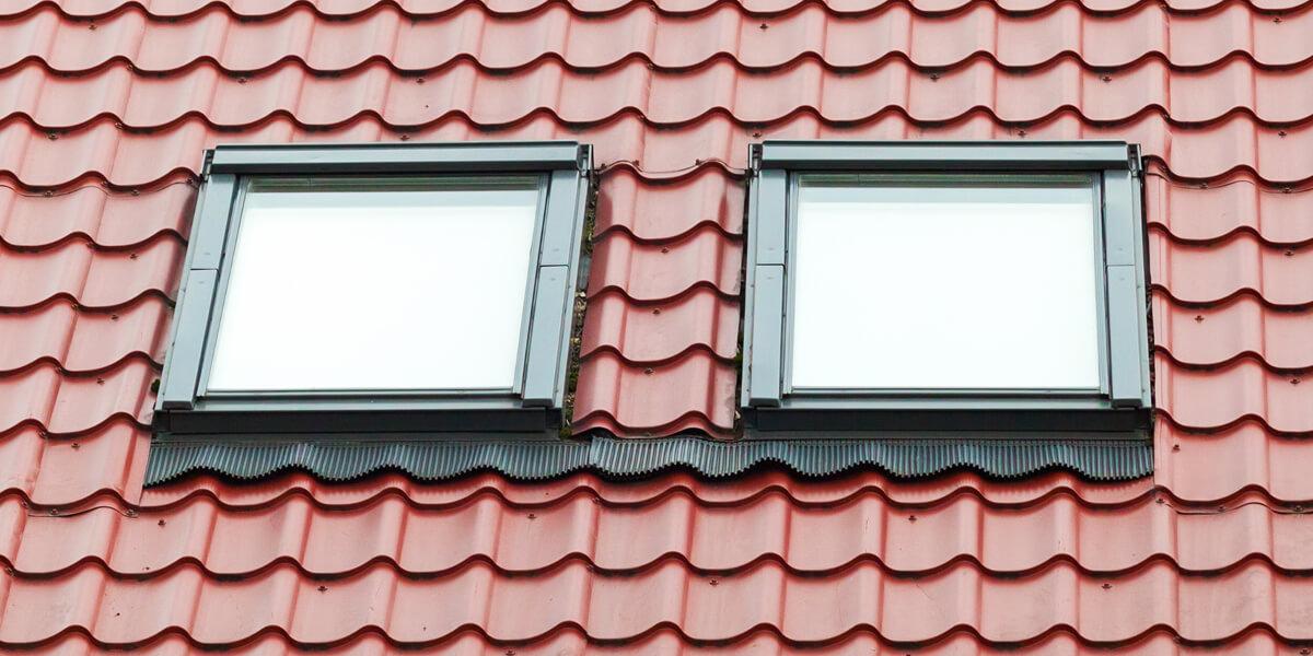 Skylight on a Metal Roof
