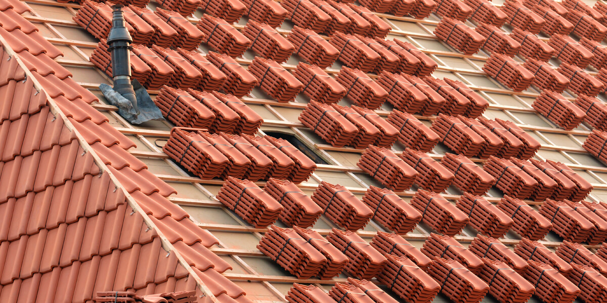 Roof Tiles Stack