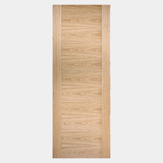 LPD Sofia 1981mm High 44mm Thick Pre-Finished Oak Internal Fire Door - Various Width Available