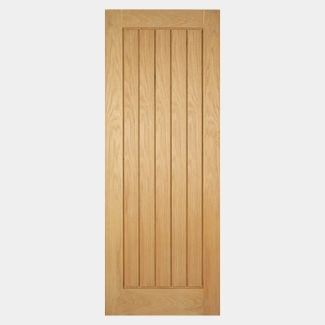 LPD Mexicano Unfinished Oak Fire Door - Various Sizes Available