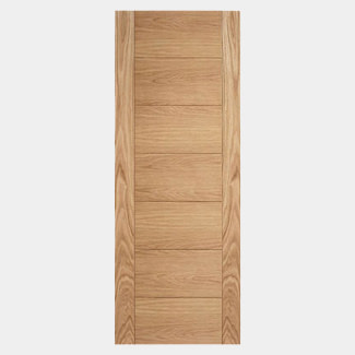 LPD Carini 7 Panel Unfinished Oak Fire Internal Door 44mm Thick - Various Sizes Available