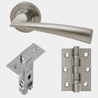 LPD Mars Ironmongery Handle Hardware Pack 230 x 160mm