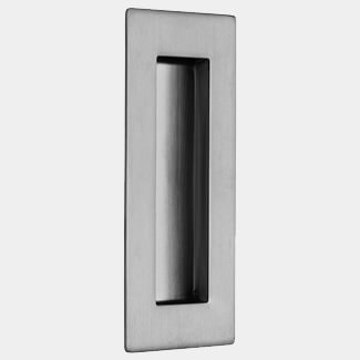 LPD Scorpio Ironmongery 120mm High 50mm Wide Pocket Door Handle - Various Finishes Available