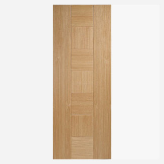 LPD Catalonia Pre-Finished Oak Fire Door - Various Sizes Available