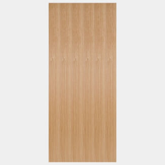 LPD Flush 44mm-Thick FD30 Pre-finished Internal Oak Fire Door - Various Sizes Available