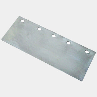 Faithfull 5 Hole Floor Scraper Blade 200mm