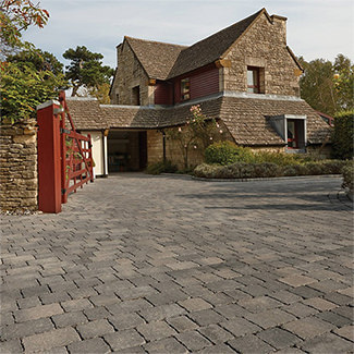 Bradstone Woburn Rumbled Infilta Block Paving - Various Finish and Sizes Available - Pallet