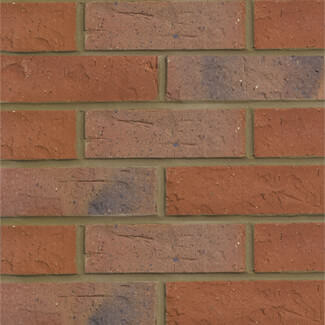 Hanson Forterra Worcestershire Multi Brick Red 65mm (Sold Per Pallet)