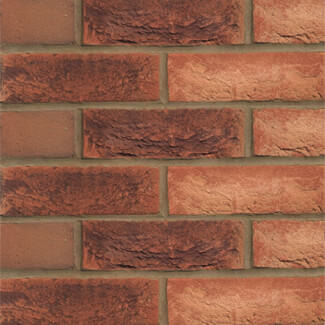 Hanson Forterra Hampton Mixture Brick Rural Blend Red 65mm (Sold Per Pallet)