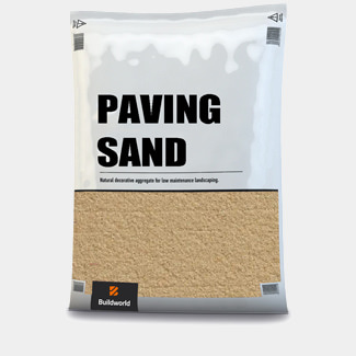 Buildworld Kiln Dried Paving Sand 25kg Bag