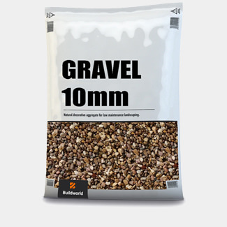 Buildworld 10mm Gravel 25Kg Bag