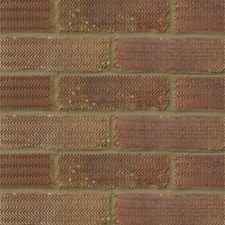 Hanson Forterra Rustic London 65mm Antique Red Brick - Sold Per Pallet