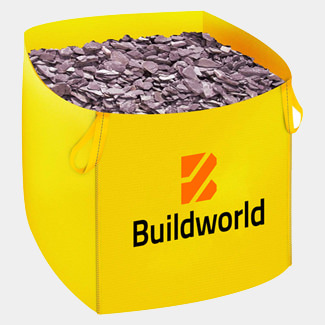 Buildworld 20mm Plumb Slate Jumbo Bag