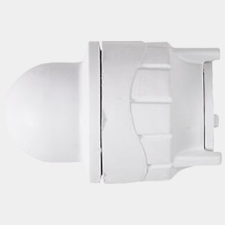 Polyfit Push-Fit Blank End White