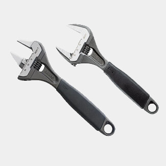 Bahco BAHADJ903129 ERGO Adjustable Wrench Twin Pack Capacity 32/38mm