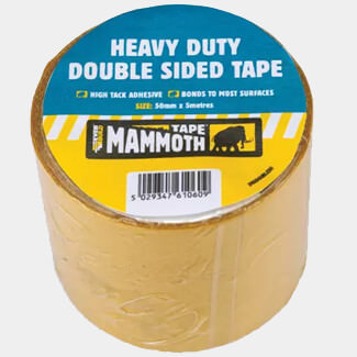 Everbuild Heavy-Duty 50mm x 5m Double Sided Tape