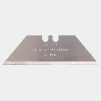 Stanley 1992B 0.65mm Thick Heavy-Duty Knife Blades 62mm Long - Various Pack Quantity Available