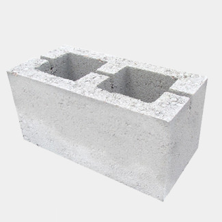 Buildworld Hollow Dense Concrete Block 215mm (7.3N) (Sold Per Pallet)