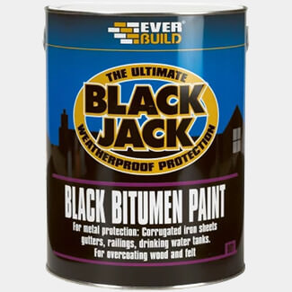 Everbuild Black Jack 901 Black Bitumen Paint
