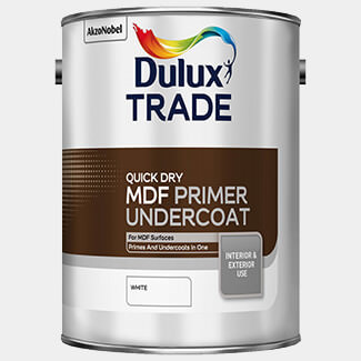 Dulux Trade 2.5 Litre Quick Drying MDF Primer Undercoat