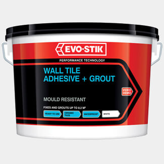 Evo-Stik Mould Resistant Wall Tile Adhesive And Grout - Various Pack Sizes Available