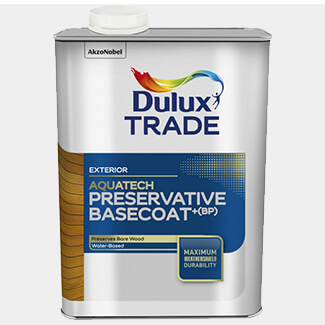 Dulux Trade Aquatech Preservative Basecoat Plus 1L