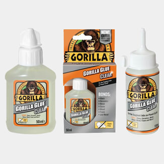 Gorilla Glue Clear - Sizes Available