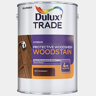 Dulux Trade Protective Woodsheen 1L Rich Mahogany
