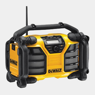 Dewalt XR DAB Radio With Charger 240V And Li-Ion Bare Unit