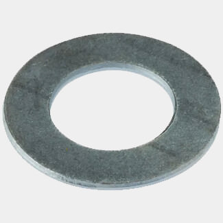 Forgefix Flat Penny Zinc Plated Washer - Bag Of 10