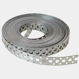 Forgefix Builders Galvanised Fixing Band - 20mm x 1.0 x 10m - Box 1