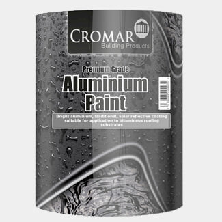 Cromar Solar Reflective Aluminium Roof Paint - Various Pack Size Available