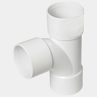 FloPlast Solvent Fit 32mm TEE White