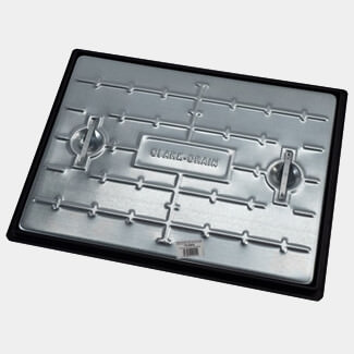 Clark Drain Manhole Cover And Frame 600mm x 450mm - Sizes Available