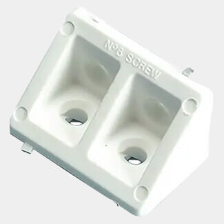 Plasplugs White Rigid Joints