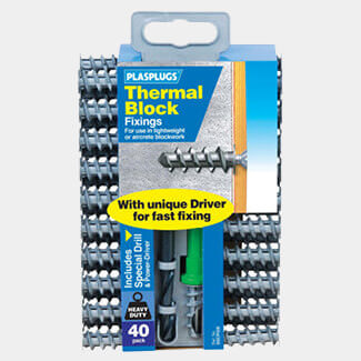 Plasplugs SSCP558 Thermal Block Fixings