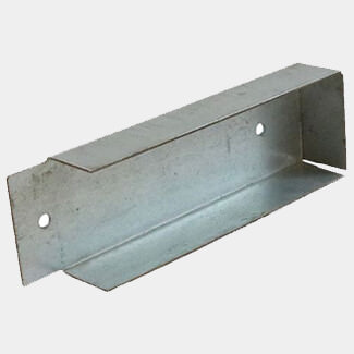 Timco Taurus Gravel Board Clip Galvanised - More Sizes Available