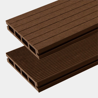 Buildworld HD Deck XS Composite Decking Board Walnut 146 x 25 x 3600mm Length