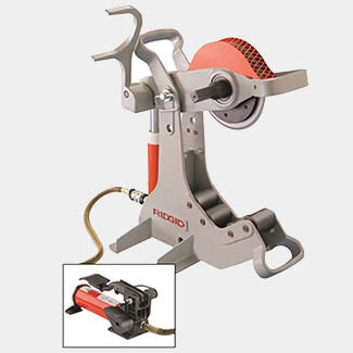 Ridgid 258 Power Pipe Cutter With No.700 Powerdrive 115 Volt
