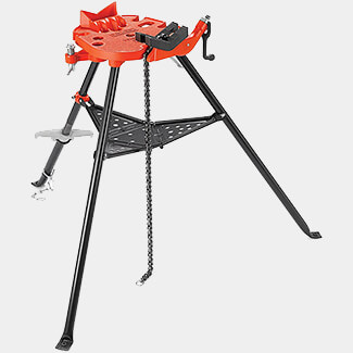 Ridgid 60-12 Portable Tristand Chain Vice 3-300mm Capacity