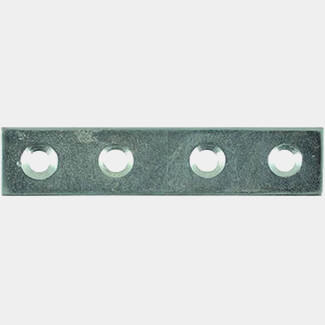 Timco Mending Plates Zinc - Various Size Available