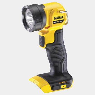 Dewalt XR LED Torch 18 Volt Bare Unit