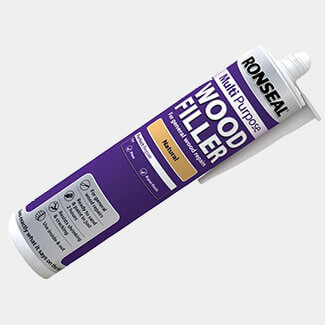 Ronseal Multipurpose Wood Filler Cartridge Natural 310ml