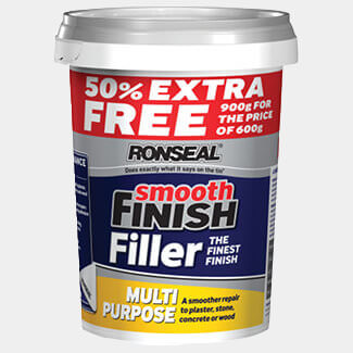 Ronseal Smooth Finish Multipurpose Wall Filler Ready Mixed