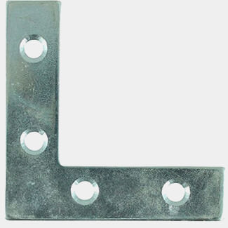Timco Corner Plates Zinc - Various Size Available