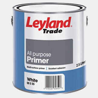 Leyland Trade All Purpose Primer White - More Variations Available