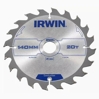 Irwin IRW1897088 Construction Circular Saw Blade - Various Sizes Available